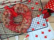 Bundt cake cava fresas (para Valentín