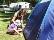 """Felicidad estado """"camping"""""""