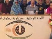 delegación vasca visita sede Comisión Nacional Saharaui para Derechos Humanos