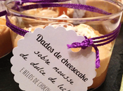 Mousse dulce leche daditos cheesecake