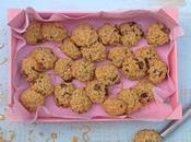 Receta galletas avena naranja chocolate