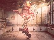 """Monsters"", extrañas criaturas ilustradas pasean Chernóbil"