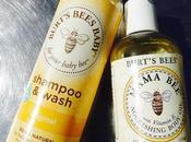 Aceite para masajes Shampoo sulfatos: belleza natural Burt's Bees.