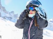 Adventures skiing