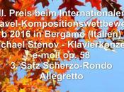 Michael Stenov: Premio Concurso Internacional Permanente Creatividad Piano'