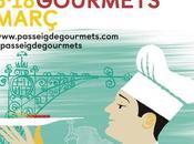 Empieza Passeig Gourmets, Festival gastronómico Gràcia