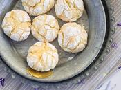 Galletas craqueladas limón. Lemon crinkle cookies. Vídeo Receta