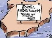destrucción España está marcha