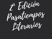 Edición Pasatiempos Literarios necesitan autoras autores!