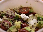 Ensalada templada quinoa