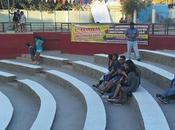 tiempo mandarinas primer Festival Iberoamericano Molinos Arte, Tierra Amarilla, Atacama, Chile