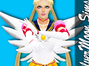Traje Sailor Moon Eternal para Sims SilverMoon