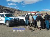 Importante operativo contra pesca furtiva cerca Collón Curá