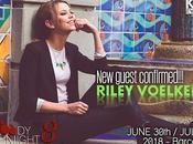 invitada BloodyNightCon Riley Voelkel