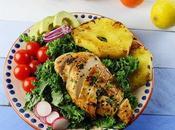 Ensalada pollo piña