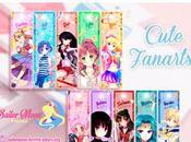 Marca-libros Sailor Moon para imprimir