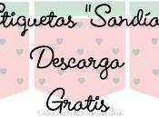 Etiquetas diseño Sandía
