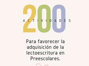 actividades para favorecer adquisición lectoescritura preescolares. parte
