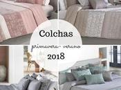 Nueva colección colchas primavera- verano 2018