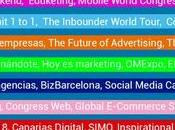 Calendario 2018 mejores eventos Marketing, RRSS, Analítica Web, Data, Emprendimiento…