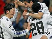 Real Madrid goleó Lyon clasificó cuartos