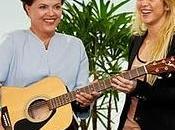 Shakira dona guitarra presidenta Brasil pide ayuda para