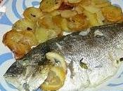 Dorada horno macedonia frutas