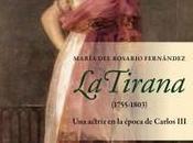 """Tirana (1755-1803). actriz época Carlos III"""", José María Martín Valverde"""