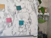 Renovar frigorífico efecto mármol Imanes colores Pantone