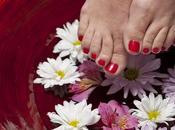 plantas eliminan hongos pies