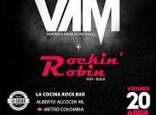 cubrirá concierto Madrid Rockin' Robin (20-04-2018)