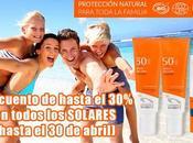 Natura Online lanza oferta cremas bronceadores solares veraniegos, descuentos hasta