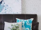 Living room blues: Toques azul nuestra sala