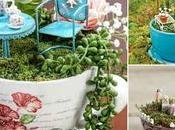 Hermosas ideas para hacer terrarios tazas