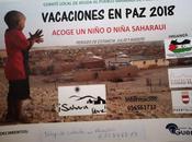 """Campaña acogida niños/as Saharaui """"Vacaciones paz"""" Almadén"""