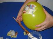 Hacer Piñatas Globo Paso