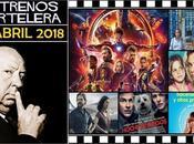 "Estrenos Semana Abril 2018 Podcast 4x31 Perfil Hitchcock"""