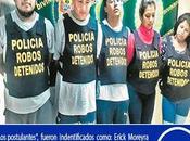 Querían graduarse como delincuentes uniformados…?
