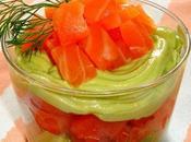 Ensalada salmón marinado mayonesa aguacate