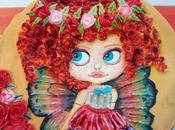 Galleta decorada- muñeca mariposa