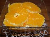 Ruedas naranja almíbar