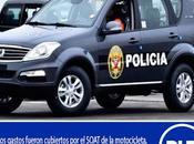 Policía marca perú…