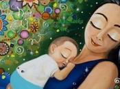 madre bebé solo corazón
