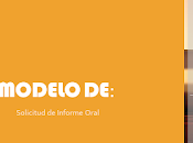 Modelo Solicitud Informe Oral