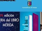 Feria libro badajoz, mérida, cuenca valladolid
