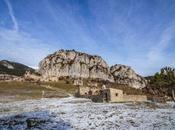 pueblo abandonado Peguera entorno Serra d'Ensija