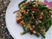 Ensalada legumbres judías verdes