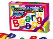 Juguetes para aprender letras números