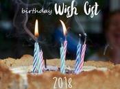 Birthday Wishlist 2018
