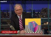 Strokes show David Letterman.